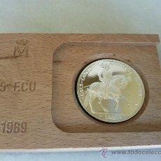 Euros: 5 ECUS EN PLATA AÑO 1989.. Lote 37703826