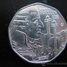 Euros: MONEDA 5 EUROS DE PLATA - AUSTRIA 2009 - JOSEPH HAYDN. Lote 96040826