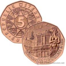 Euros: 5 EUROS -AUSTRIA 2012- 200º ANIVERSARIO DE LA SOCIEDAD AMIGOS DE LA MÚSICA - S/C. Lote 31646735