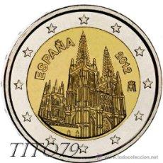 Euros: ESPAÑA 2 EUROS 2012 CATEDRAL DE BURGOS. Lote 235495565