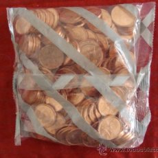 Euros: BOLSA CERRADA ORIGINAL DE MONEDAS SIN CIRCULAR DE 2 CENTIMOS DEL 2000, ESPAÑA, INVERSION. Lote 30842540