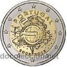 Euros: MONEDA CONMEMORATIVA 10º ANIVERSARIO DEL EURO 2002-2012 PORTUGAL. Lote 32790602