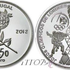 Euros: PORTUGAL 2,5 EUROS 2012 OLIMPIADAS LONDRES 2012. Lote 196630191