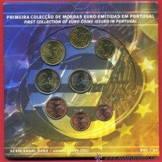 Euros: CARTERA PORTUGAL 2002. Lote 33689330