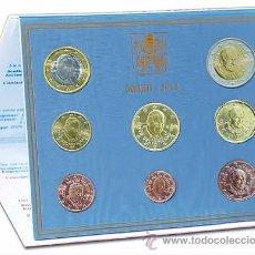 Euros: CARTERA OFICIAL EUROS DEL VATICANO 2012 PAPA BENEDICTO XVI. Lote 36354133
