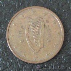 Euros: IRLANDA 5 CÉNTIMOS DE EURO 2002. Lote 34019018