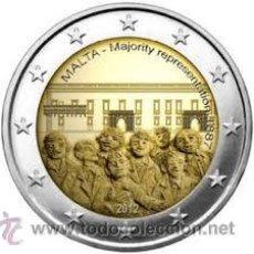 Euros: 2 EUROS CONMEMORATIVOS MALTA 2012 . Lote 55000604