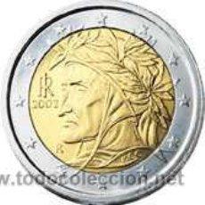 Euros: MONEDA 2 EUROS ITALIA 2009 - DANTE- SIN CIRCULAR. Lote 118728200