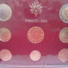 Euros: EUROS 2008 SERIE VATICANO ESPECIAL REGALO CALIDAD PROOF. Lote 34627796