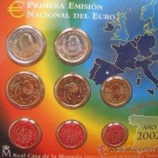 Euros: MONEDAS DE EURO ESPAÑA DE 2002,2003 EN BLISTER, ESPECIAL COLECCION O REGALO CALIDAD PROOF. Lote 36451506