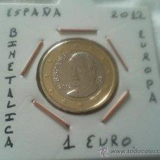 Euros: MONEDA DE 1 EURO DEL AÑO 2012 EBC ENCARTONADA. Lote 35581358