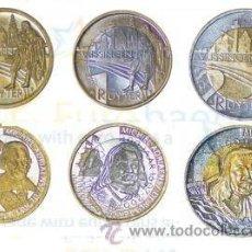 Euros: HOLANDA 2007- RUYTER- 3 MODELOS. VLISSINGEN. Lote 35610992