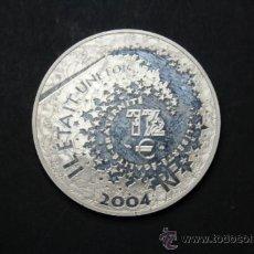 Euros: MUY RARA MONEDA EURO DE PLATA FRANCIA 2004 ALADDIN - 1,50 €UROS - . Lote 35756720