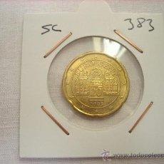 Euros: 383.- 20 CENTIMOS DE EURO AUSTRIA 2009 SC. Lote 35962840