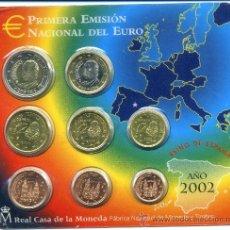 Euros: SET EUROS ESPAÑA 2002. Lote 36495118