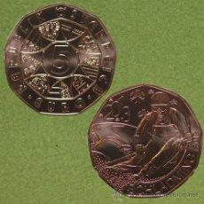 Euros: 5 EUROS -AUSTRIA 2012- MUNDIAL ESQUÍ SCHLADMING 2013 - S/C. Lote 36967677