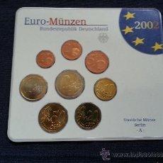 Euros: BLISTER ALEMANIA 2002 A. Lote 37303601