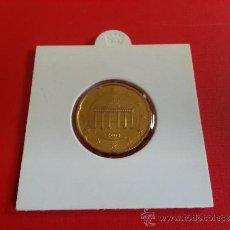 Euros: 20 CENT ALEMANIA 2003 A - SIN CIRCULAR. Lote 37304270