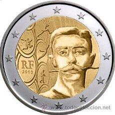 Euros: FRANCIA 2 EUROS 2013 150 ANIVERSARIO PIERRE DE COUBERTIN. Lote 211656170