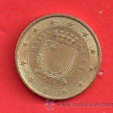 Euros: MONEDA EURO DE MALTA DE 0,10 DE EURO AÑO 2008 CIRCULADA. Lote 38197338