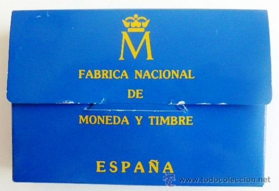 Euros: ESTUCHE MONEDA 5 ECU 1989 , ECUS, CARLOS V , PLATA PROF, ORIGINAL FNMT - Foto 3 - 38212029