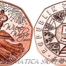 Euros: AUSTRIA 5 EUROS 2013 VALS VIENES. Lote 137757233