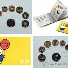 Euros: HOLANDA 2005- CARTERA OFICIAL NINTJE. SOLO 10.000 EJEMPLARES + MEDALLA- RARA . Lote 38405734