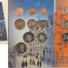 Euros: HOLANDA 2003 CARTERA OFICIAL MUNTMEESTERS DOOR DE EEUWEN HEEN- SOLO 3.500 EJEMPLARES + MEDALLA. Lote 39001465
