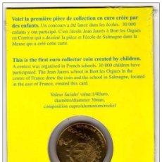 Euros: FRANCIA 1/4 EURO 2002 EN BLISTER OFICIAL. CONMEMORATIVO DE LOS NIÑOS. PETIT ENFANTS. Lote 39159551