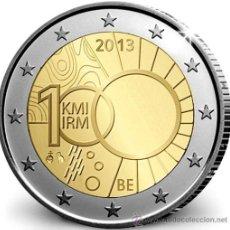 Euros: BELGICA 2 EUROS 2013 CENTENARIO INSTITUTO METEOROLOGICO BELGA. Lote 278700538