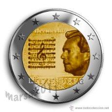 Euros: LUXEMBURGO 2€ CONMEMORATIVA 2013. Lote 262221615