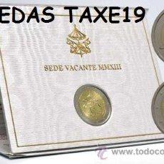Euros: VATICANO 2013 CARTERA OFICIAL 2 EUROS SEDE VACANTE. Lote 39852529