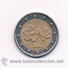 Euros: MONEDA DOS EUROS FINLANDIA 1999 AÑO ENTRADA EURO. ANTIGUA. 2 EUROS. Lote 40265759