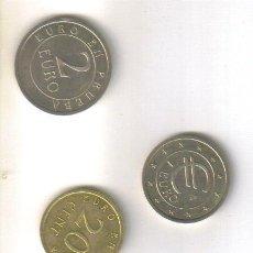 Euros: EUROS EN PRUEBA (CHURRIANA) LOS 8 VALORES-. Lote 40356416