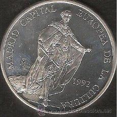 Euros: ECU ESPAÑA 5 ECUS 1992 MADRID CAPITAL EUROPEA DE LA CULTURA -LIQ.COLECCION-. Lote 41241567