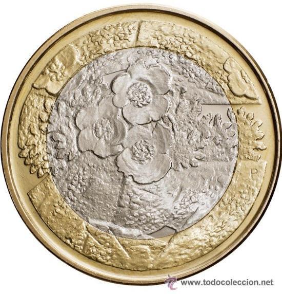 5 EUROS FINLANDIA 2012 FLORA (NATURALEZA NÓRDICA) (Numismática - España Modernas y Contemporáneas - Ecus y Euros)