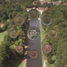Euros: BELGICA 2007. CON LOS 8 VALORES + MONEDA DE PLATA. Lote 42531099