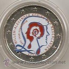 Euros: HOLANDA 2013. MONEDA DE 2 EUROS CONMEMORATIVA DE LOS 200 AÑOS DEL REINO COLOREADOS. A COLOR.. Lote 194586521