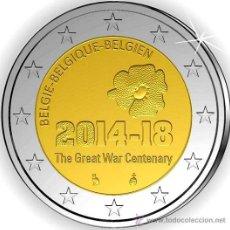 Euros: BELGICA 2 EUROS 2014 CENTENARIO COMIENZO 1ª GUERRA MUNDIAL. Lote 278700423