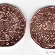Euros: 5 EUROS -AUSTRIA 2013- AÑO DEL AGUA -LAND DES WASSERS- S/C. Lote 43142266