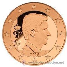 Euros: BELGICA 1 CENTIMO 2015 REY FELIPE ( NUEVO FORMATO ). Lote 278698268