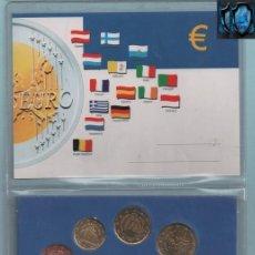 Euros: 0924 LOTE DE DE EUROS DE SERIES DEL VATICANO AÑO 2004 SAN MARINO 2006 Y MÓNACO AÑO 2002. Lote 43603124