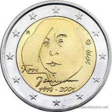 Euros: FINLANDIA 2014 2 EUROS CENTENARIO DEL NACIMIENTO DE TOVE JANSSON. Lote 201470340