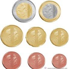 Euros: SERIE / SET / TIRA EUROS HOLANDA 2016 8 MONEDAS ( CAMBIO DE TRONO ). Lote 118725150