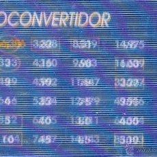 Euros: MM. EURO CONVERTIDOR. CONVERSOR EUROS. BANCO SABADELL. BANCSABADELL. AÑO 2000. Lote 44847299