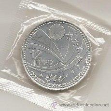 Euros: 2010 ESPAÑA. 12 EUROS DE PLATA. PRESIDENCIA DE LA UNION EUROPEA. EN SU FUNDA ORIGINAL.. Lote 113091967