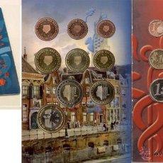 Euros: HOLANDA 2005 CARTERA OFICIAL MUNTMEESTERS DOOR DE EEUWEN HEEN- SOLO 3.500 EJEMPLARES + MEDALLA. Lote 45559911
