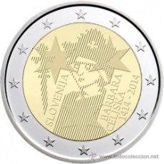 Euros: ESLOVENIA 2 EUROS 2014 600º ANIVERSARIO DE LA CORONACIÓN DE BARBARA CELJE. Lote 193655937