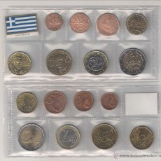 Euros: TIRA MONEDAS DE EUROS DE GRECIA (SIN CECA) AÑO 2005. SIN CIRCULAR.. Lote 46135210