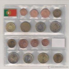 Euros: MONEDAS DE EUROS DE PORTUGAL DE 2002. SIN CIRCULAR.. Lote 46155433